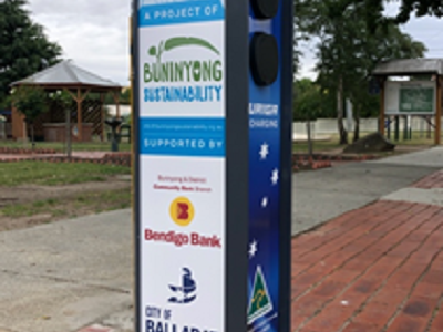 Electric Vehicle Charge Point